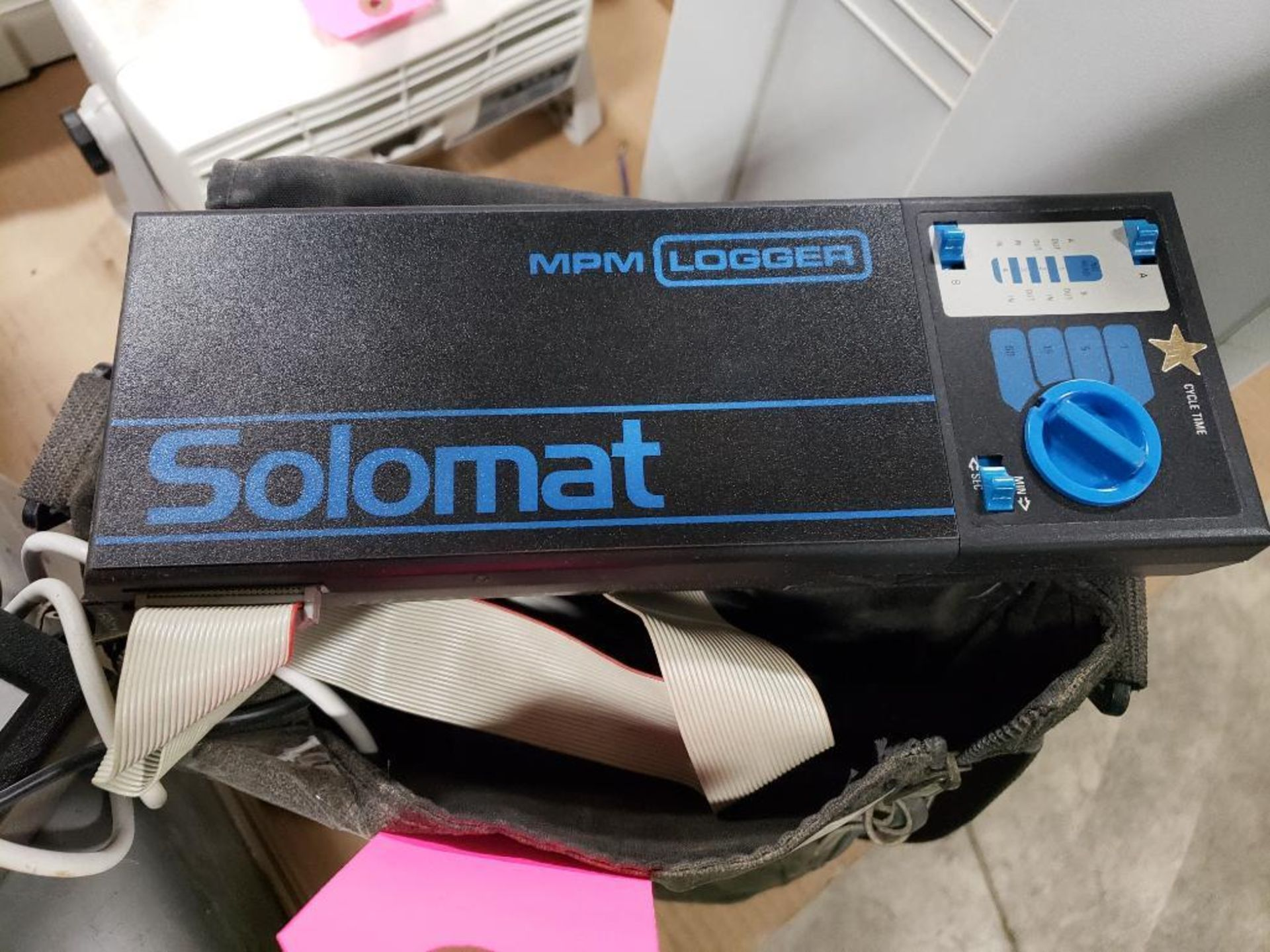 Solomat MPM Logger MPM-2000. With case. - Image 3 of 4