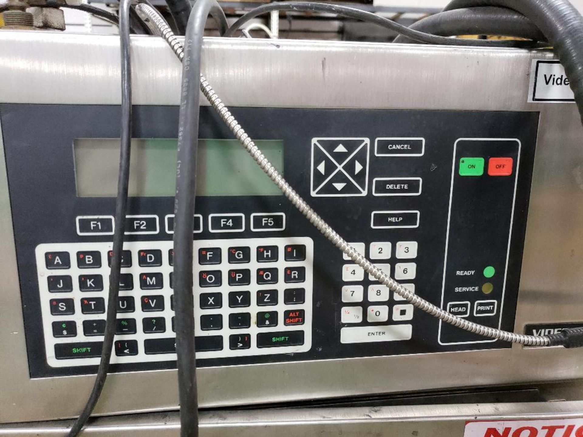 Videojet Excel Series 170-i ink jet marking machine. 100-240V. - Image 2 of 9