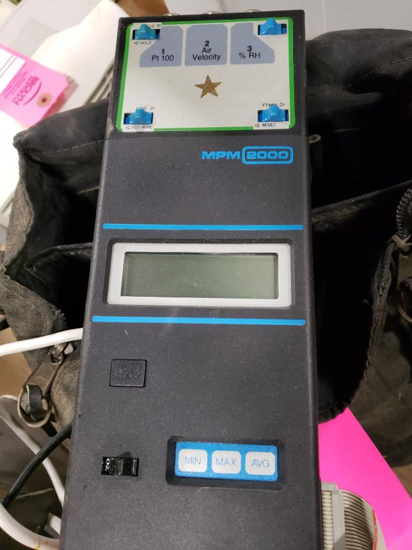 Solomat MPM Logger MPM-2000. With case. - Image 4 of 4
