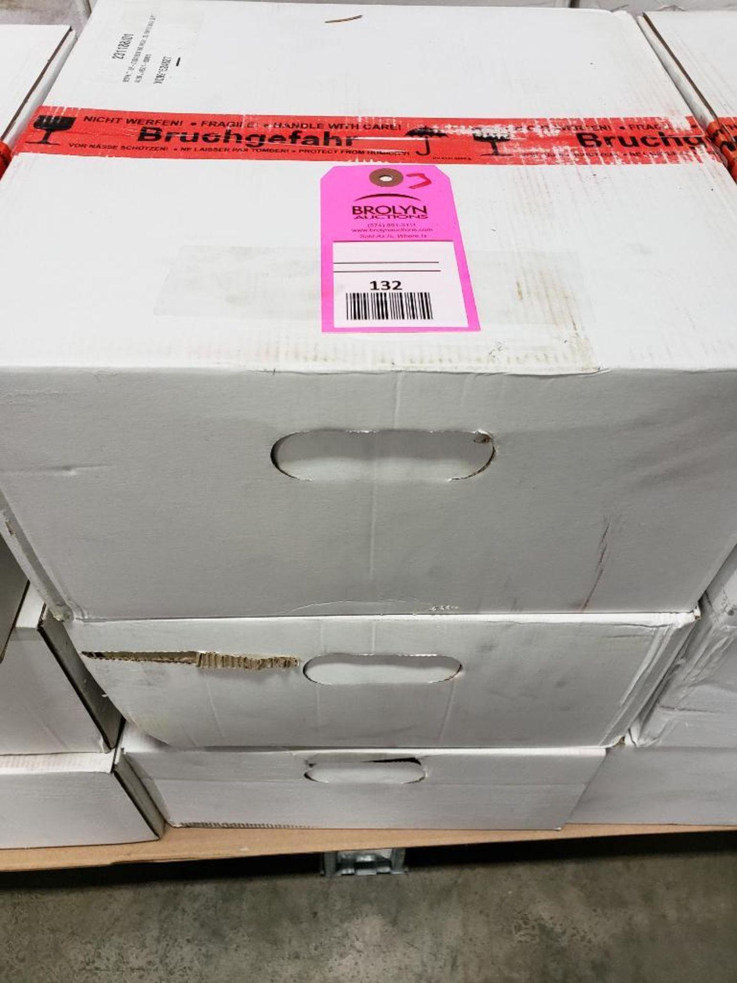 Qty 3 - 3M Abrasives grinding wheels XC991524627. 275x160x160 Mod1,35 EW15-5GG-Left.