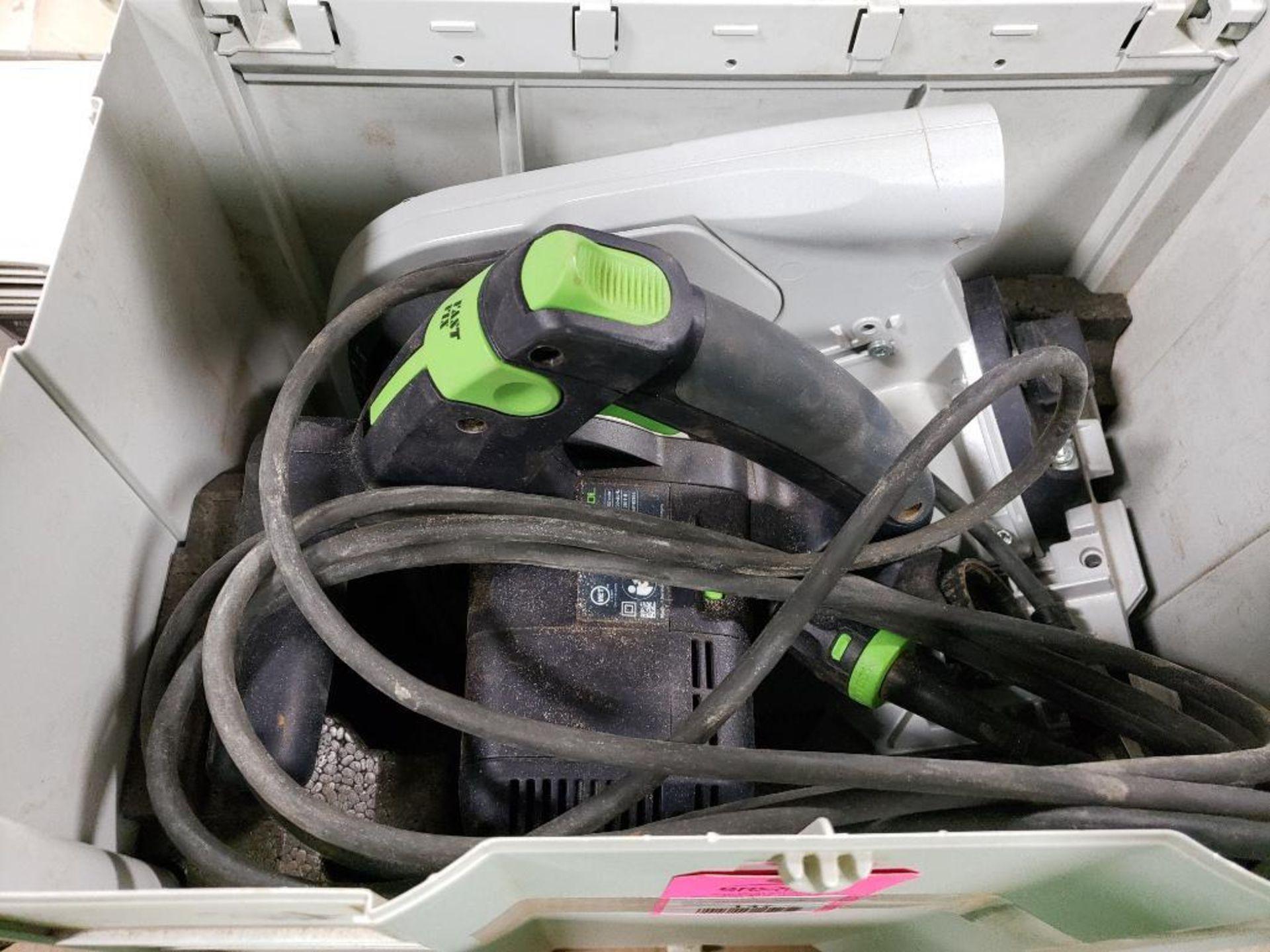 Festool TS75EQ-F-Plus USA Circular saw. 13AMP, 120V. - Image 5 of 7