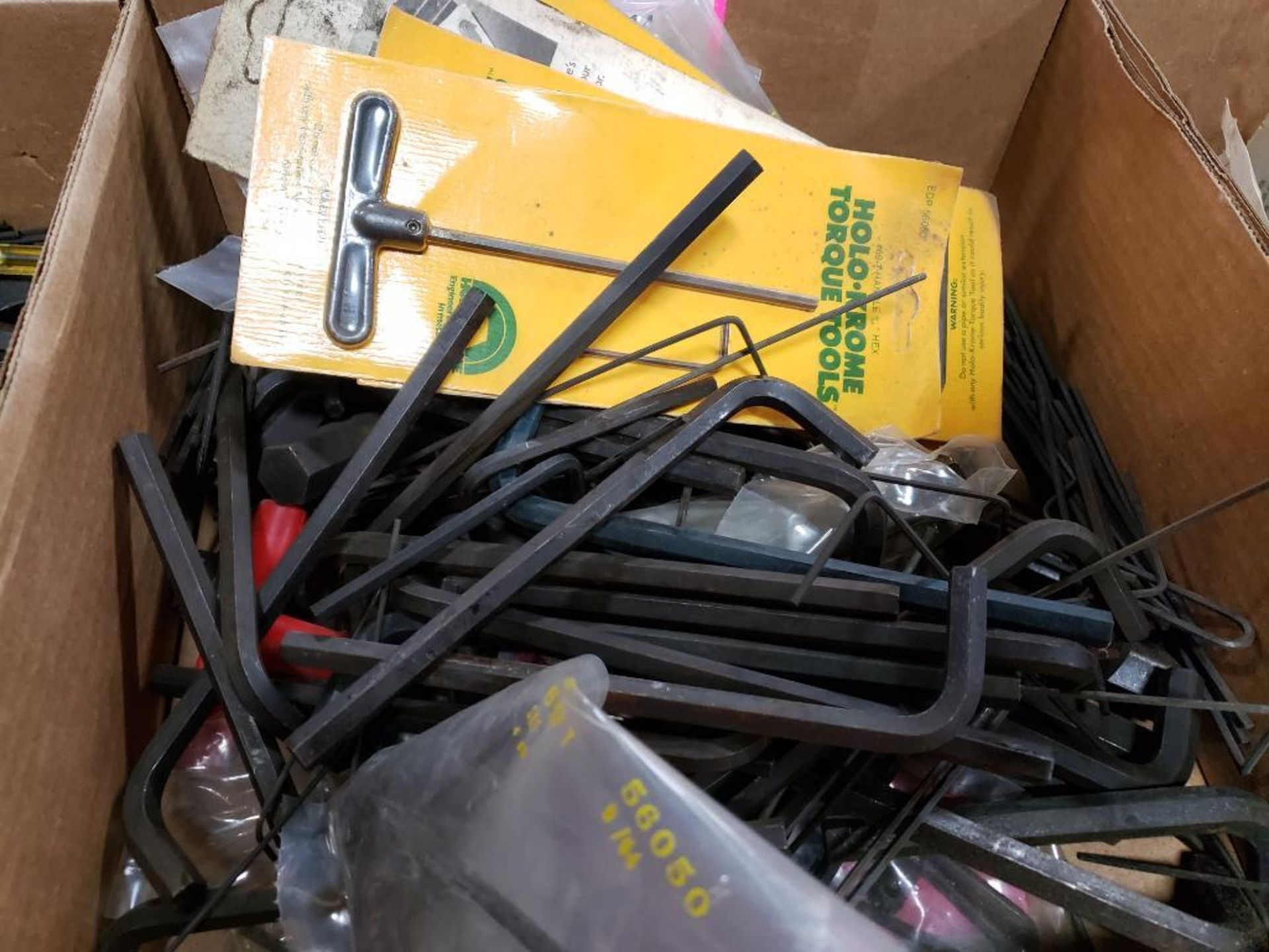 Large Qty of assorted allen wrenches. Holo-Krome and brands. - Image 2 of 2