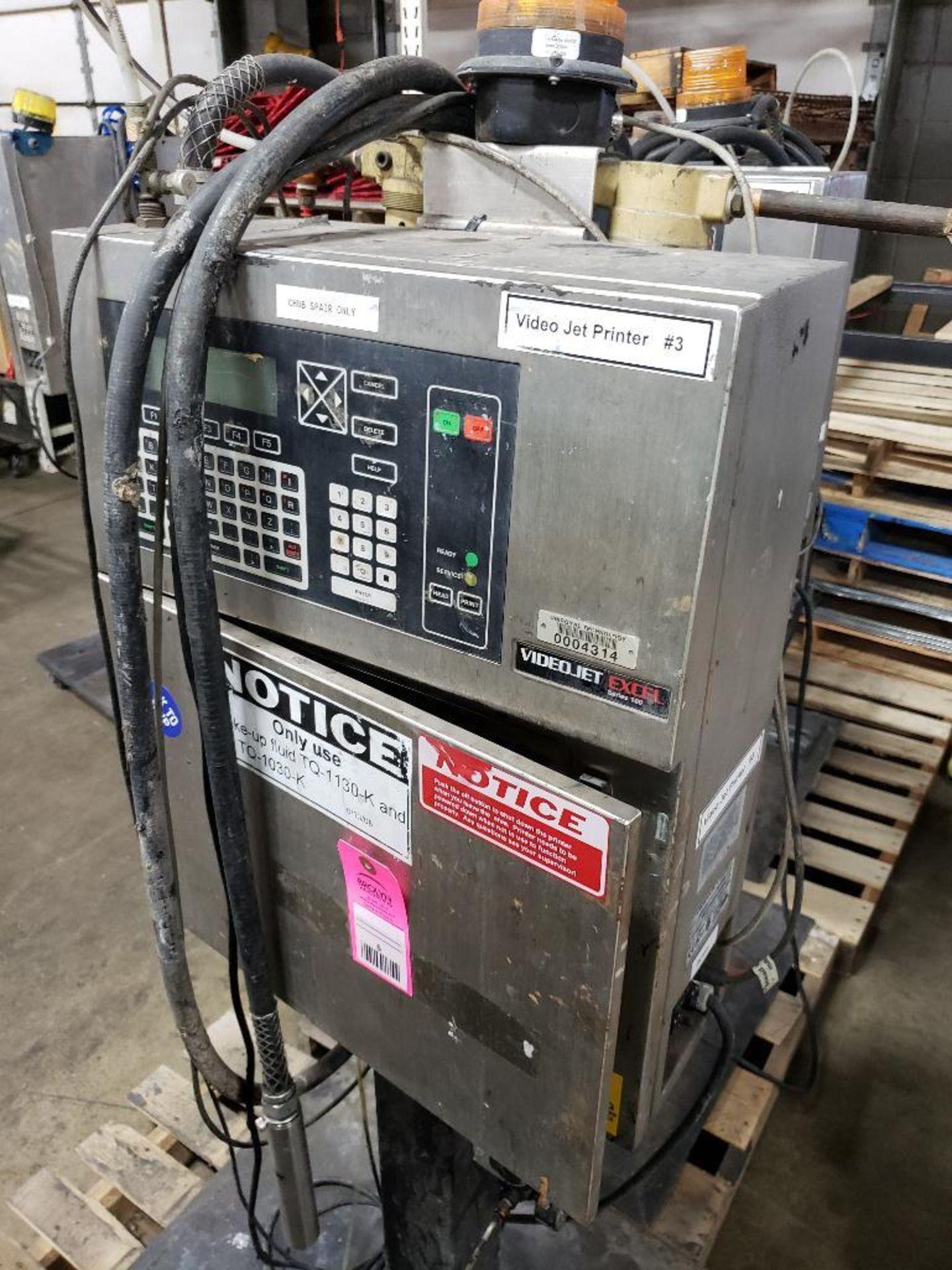 Videojet Excel Series 100 EXCEL/100 ink jet marking machine. 100-240V. - Image 7 of 10