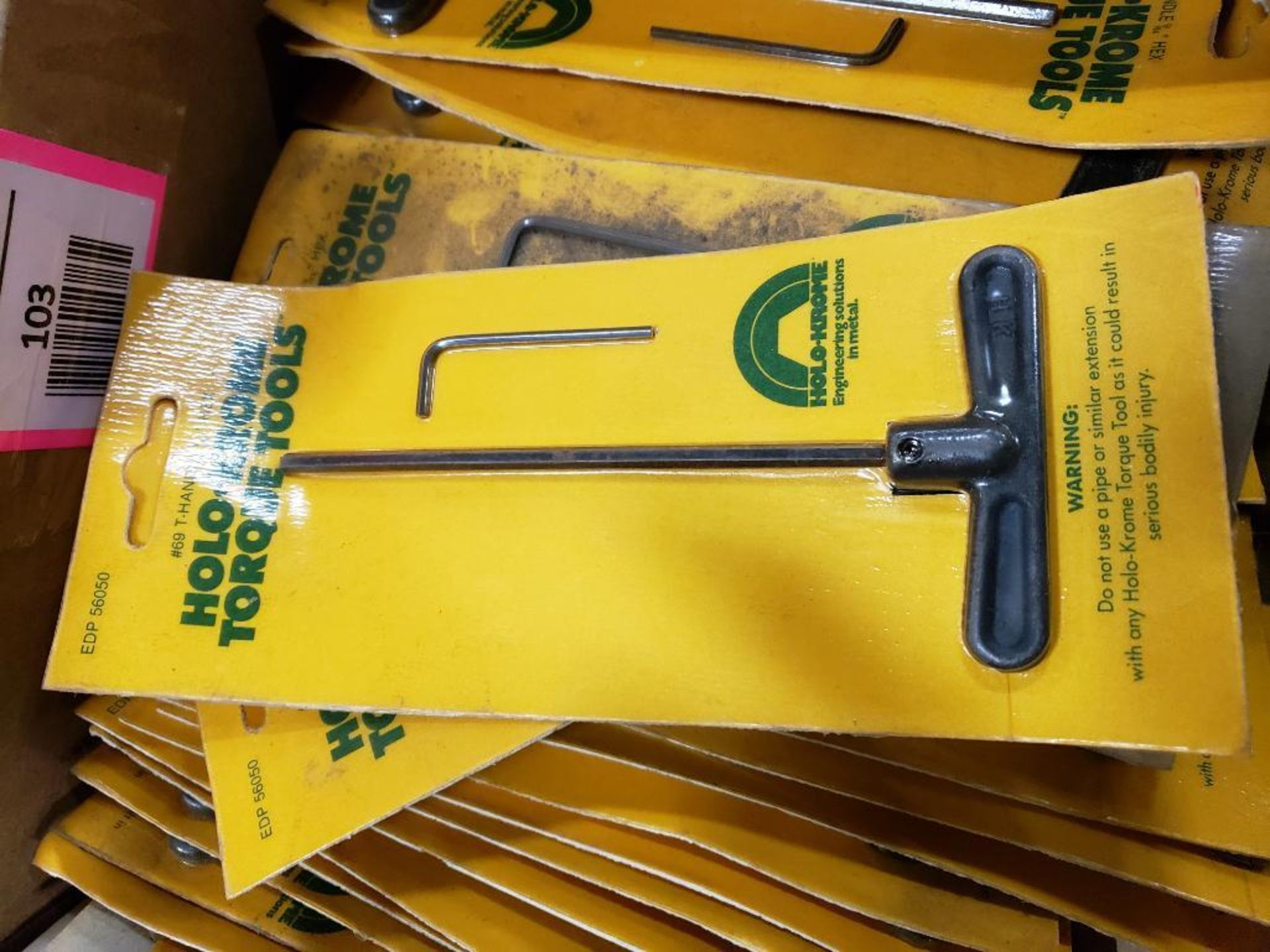 Large Qty of Holo-Krome allen wrenches. New. - Image 2 of 3