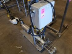 Pneumatic actuated fill station.