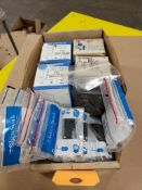 Assorted electrical. Edwards, Sylvania, Selecta Switch.