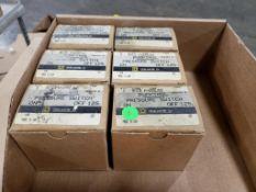 Qty 6 - Square-D 9013 FHG59J52 Pumptrol pressure switch.