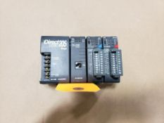 Koyo Direct Logic 205 D2-03B control rack.