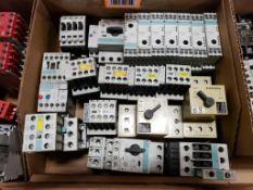 Assorted contactors. Siemens.