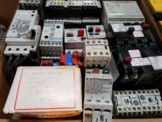 Assorted electrical. Siemens, Telemecanique, Allen Bradley, Cutler Hammer.