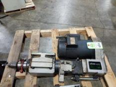 Sugino Corp. Selfeeder Newtric SN5U Drill unit. Keyed chuck. 3/4HP Leeson 1PH Motor. 110414.00.