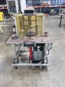 Hydraulic load cell test sation. Siebe 7550-101 digital Strain Indicator.