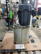 5hp Barker 96-A-173 hydraulic power pack. 3 phase 460v.