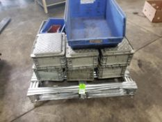 Qty 23 - Assorted industrial bins / containers.