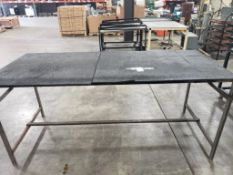 Industrial work table. 85x36x37. LxWxH.