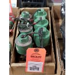 Qty 6 - Assorted ASCO solenoid coil.