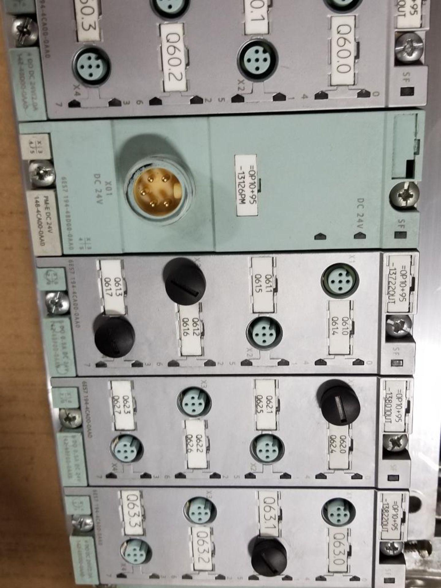 Siemens ET200-pro flow control line. 6ES7-154-1AA01-0AB0. - Image 5 of 5
