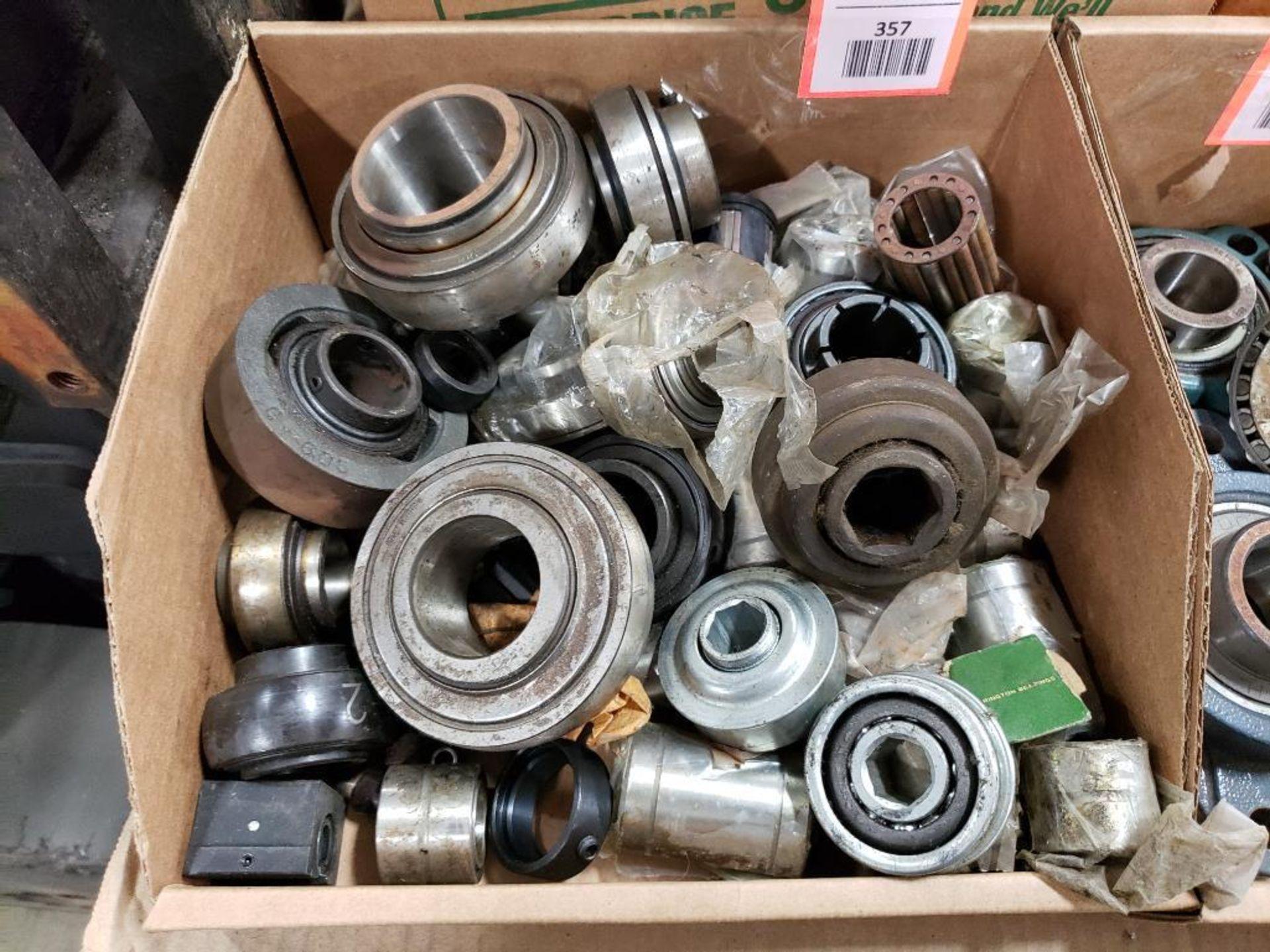 Assorted bearings.