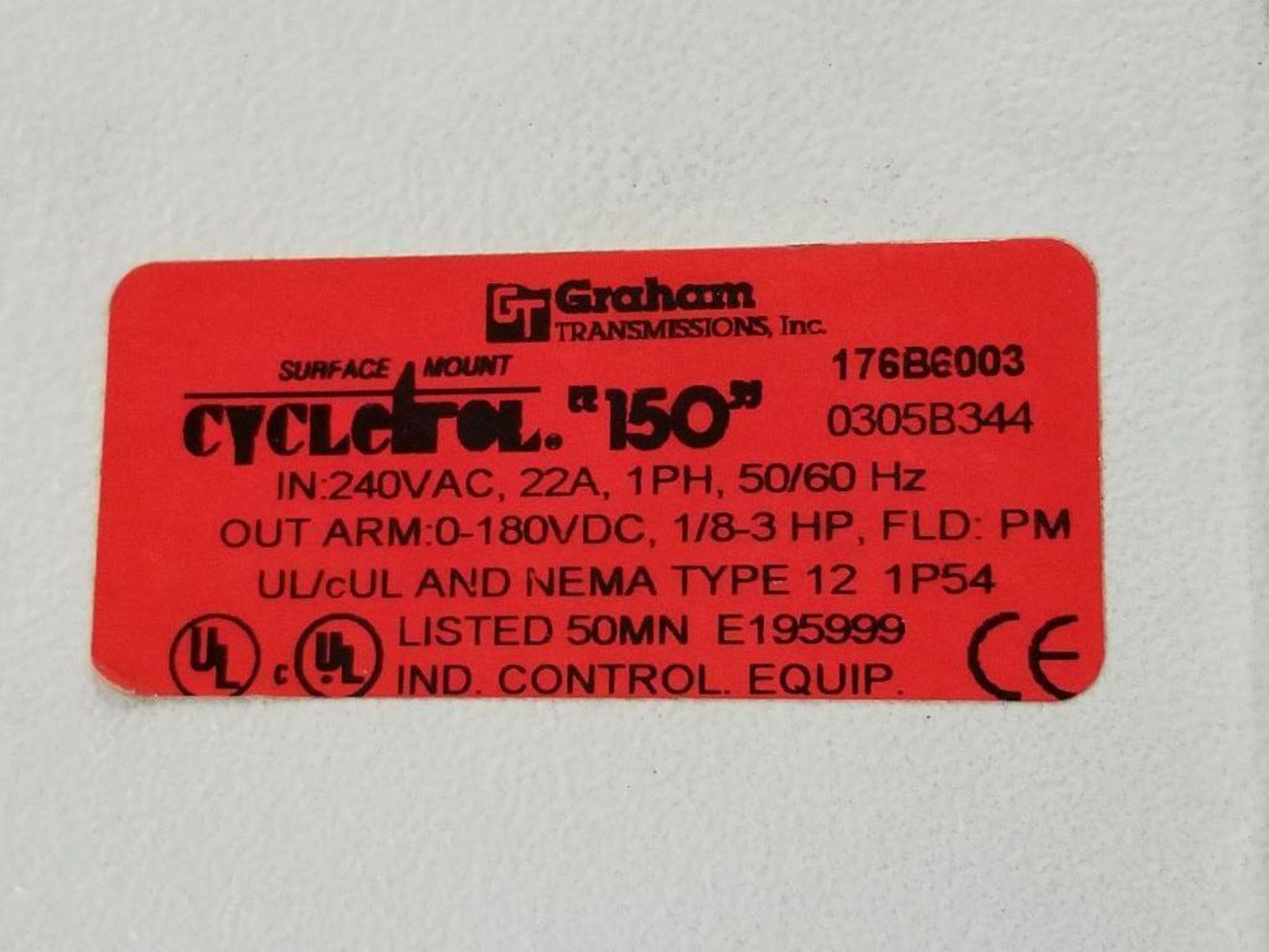 Graham Transmissions Cycletrol 150 DC motor controller. 176B6003. - Image 2 of 2