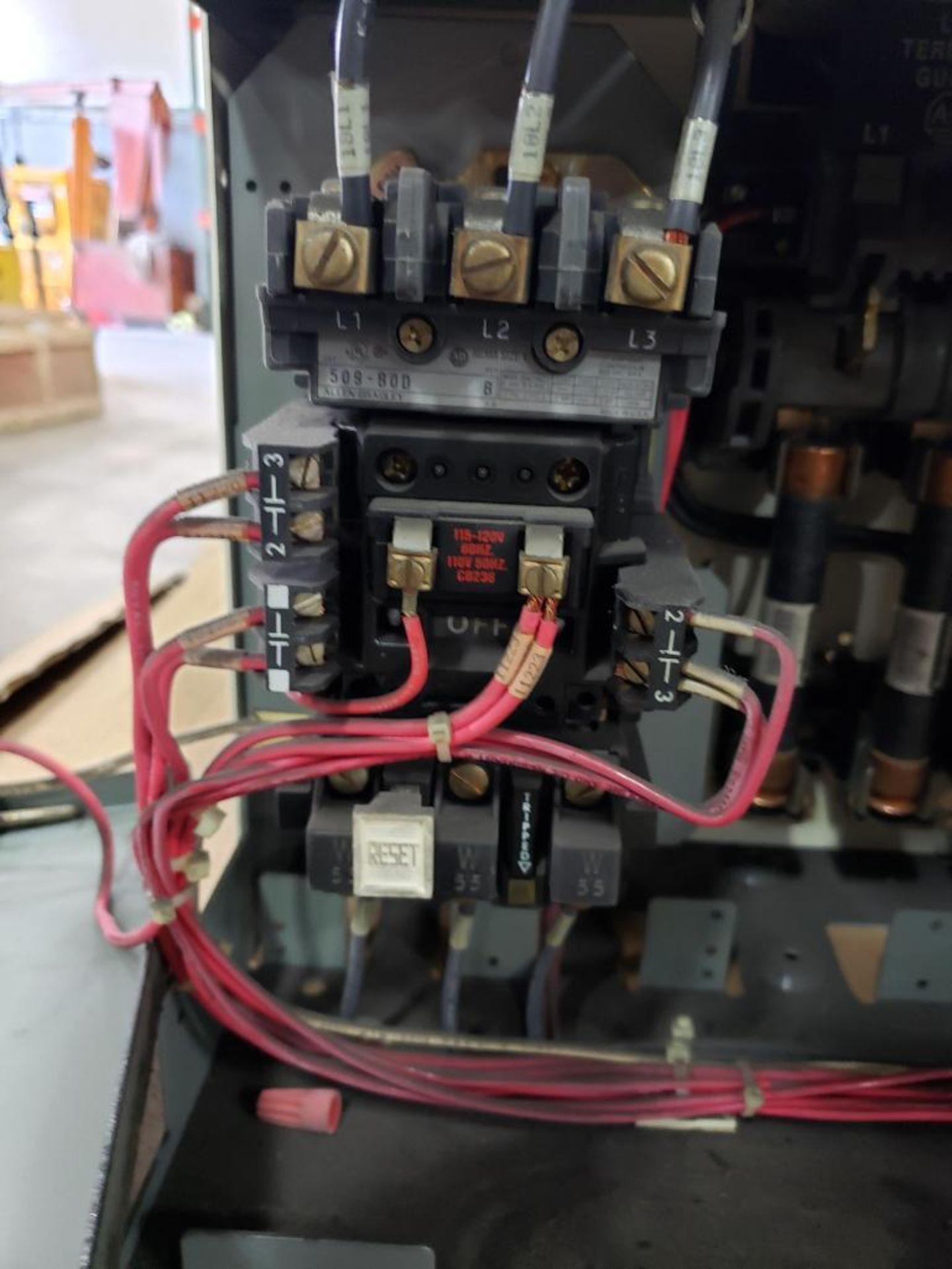 Qty 3 - Allen Bradley Motor Control bucket. 211A-B080-48-24R-41-98. - Image 5 of 8