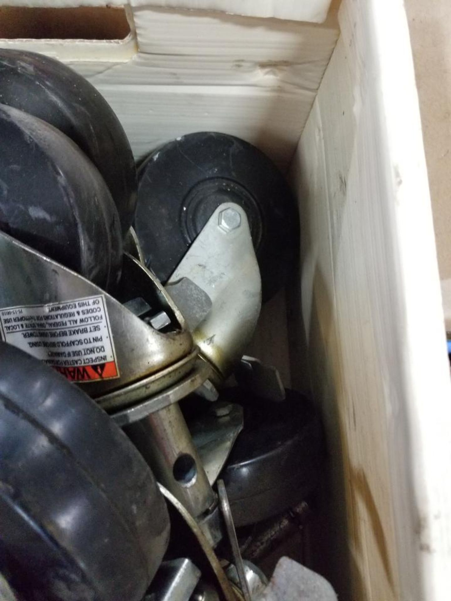 Assortment of roller wheels. - Image 4 of 6