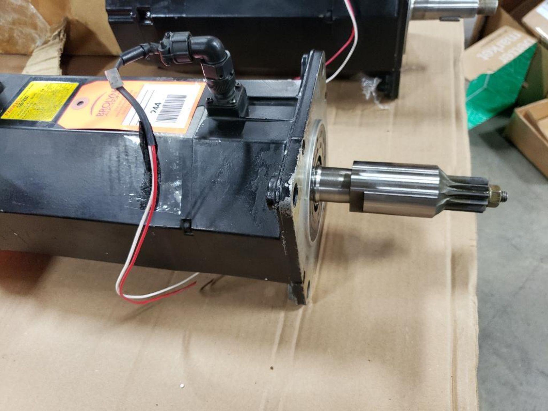 3.8kW GE Fanuc AC Servo Motor A06B-0147-B675. 157V, 2000RPM, 3PH. - Image 4 of 5