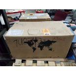 0.12kW Sew-Eurodrive Type-SA47 motor. 01.7694098201.0001.18 277/480V, 1110RPM.