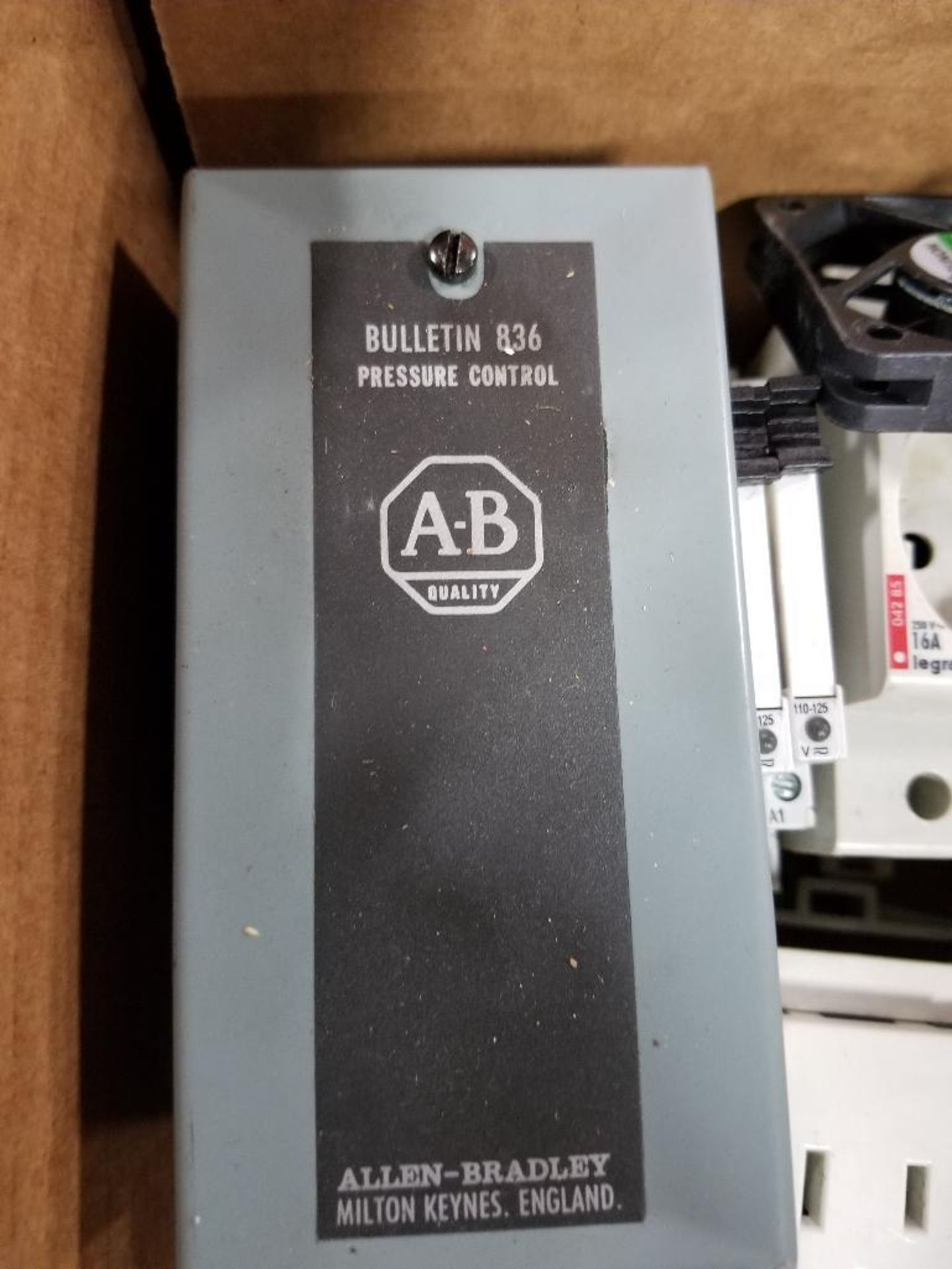 Assorted electrical. Allen Bradley, ADDA, Dayton, Sunon, Legrand. - Image 2 of 9