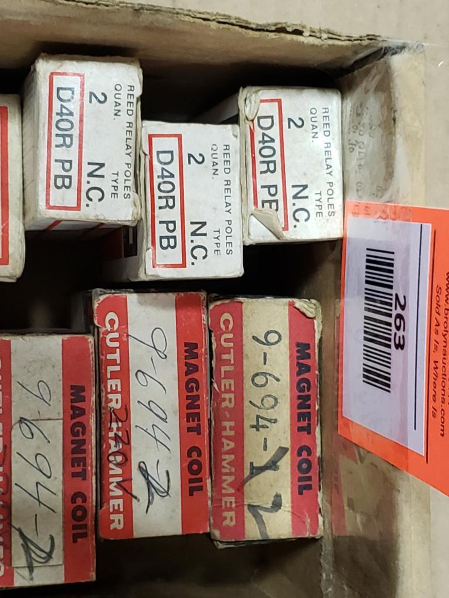 Assorted electrical contact block, magnet coil. Cutler Hammer. - Image 5 of 5
