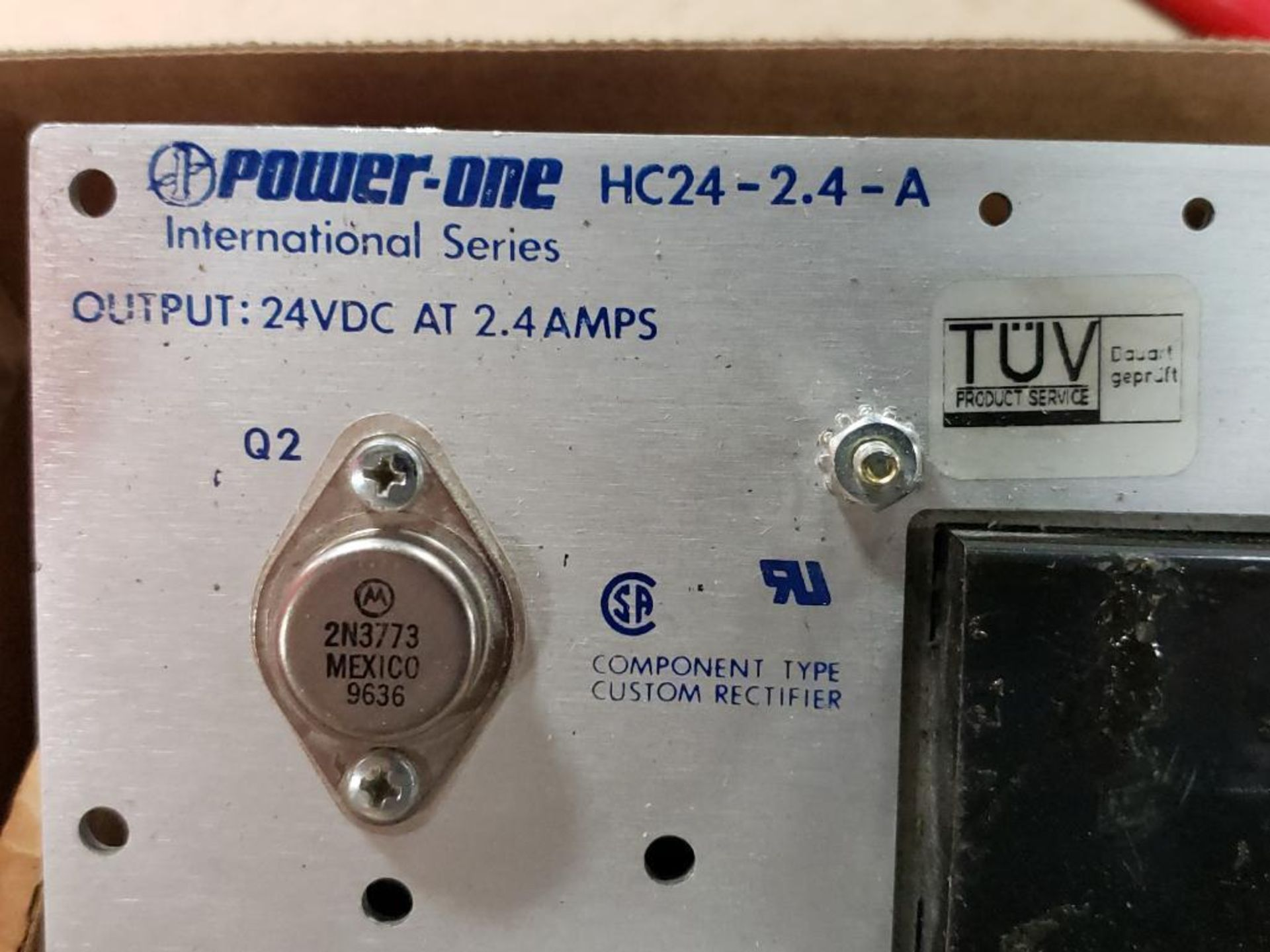 Qty 2 - Power One power supply. HC24-2.4-A, HSN-15-4.5. - Image 3 of 9