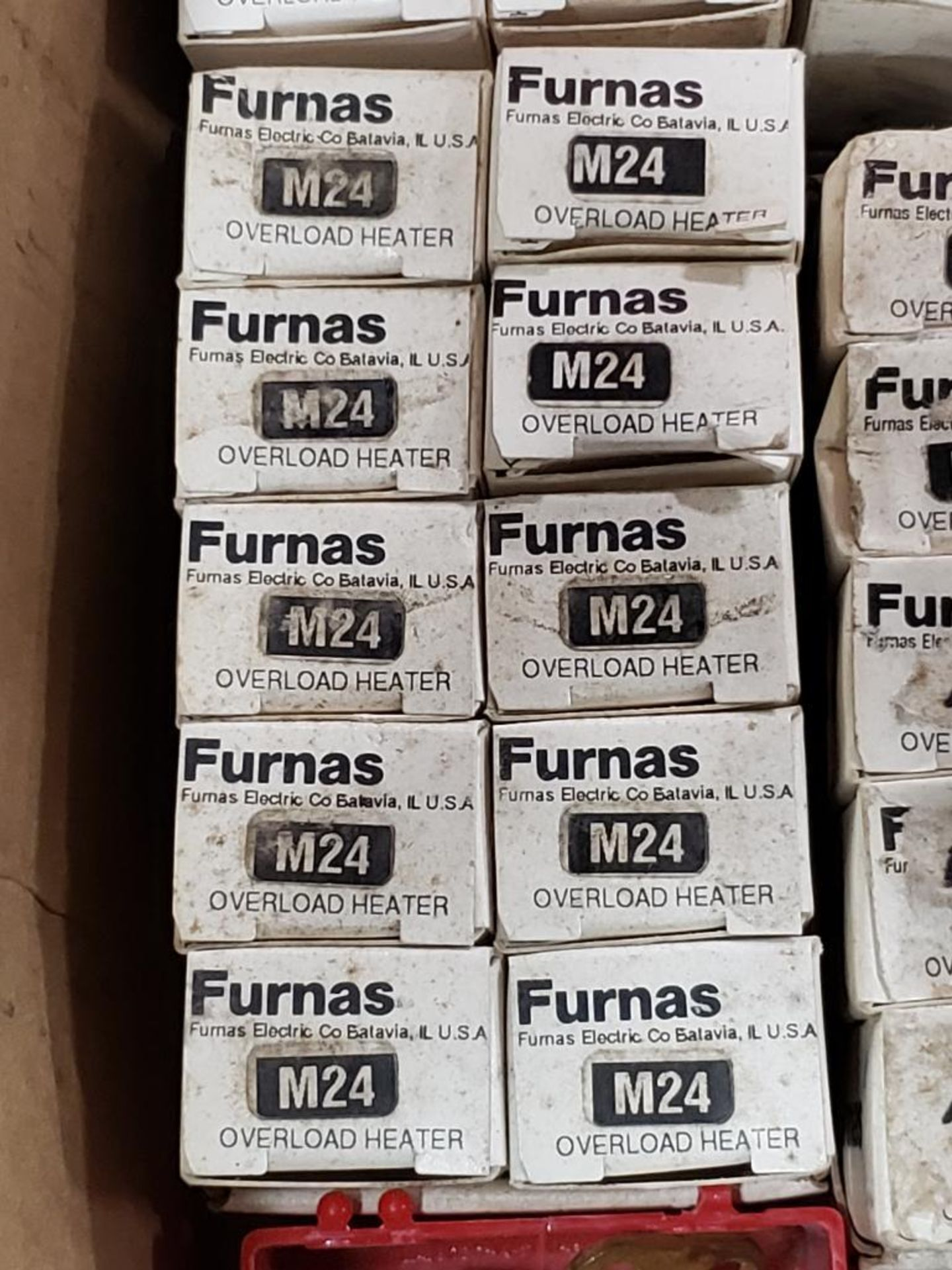 Assorted contactor heaters. Furnas. - Image 5 of 7