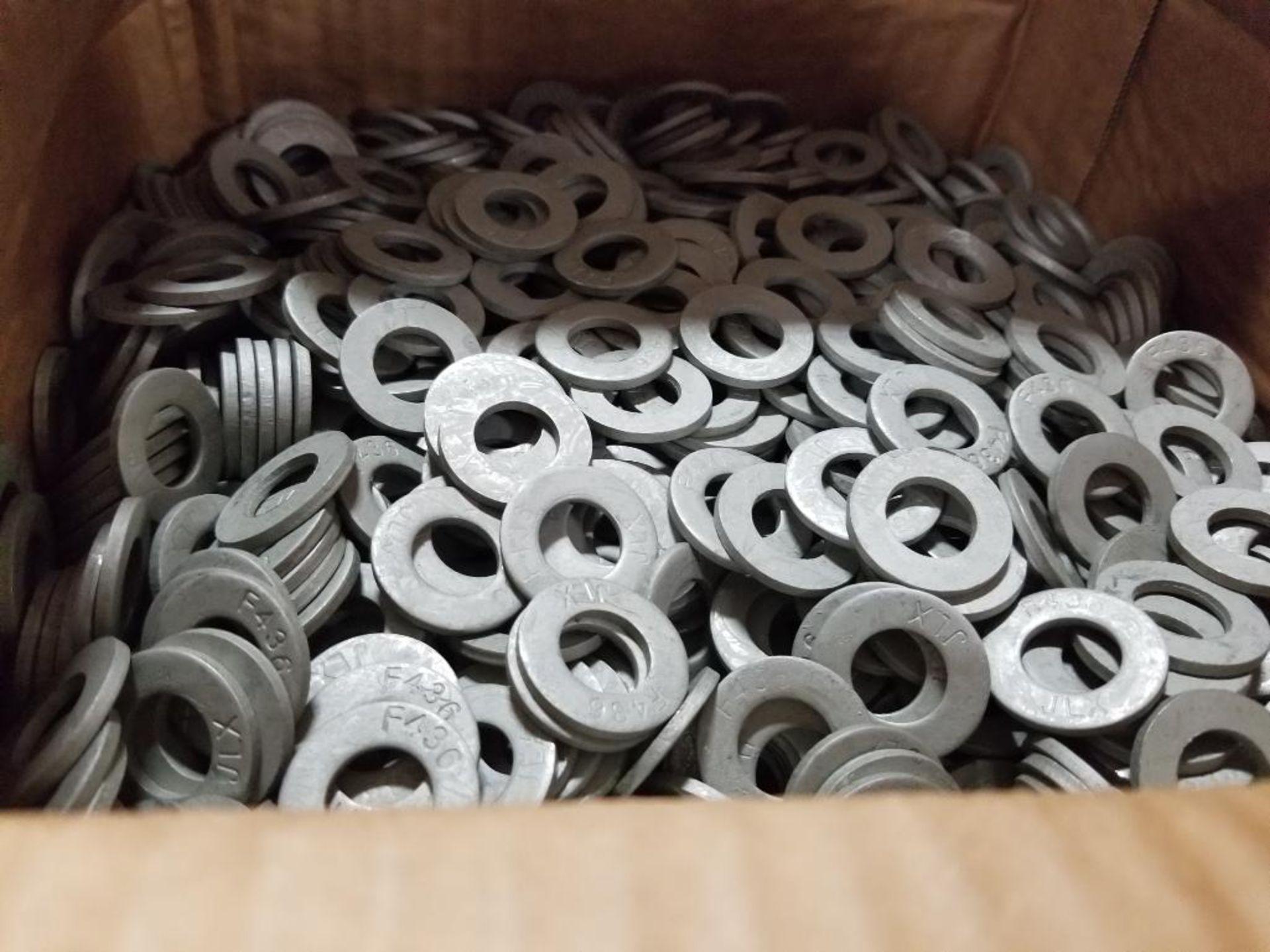 Fastener Technology 80687 1/2 x 1.062 x .095 Flat washer hardened. - Image 3 of 3