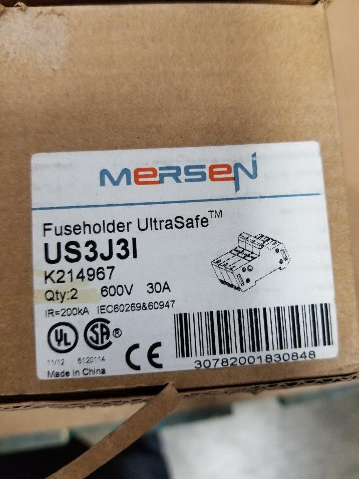 Qty 3 - Mersen US3J3I Ultrasafe Fuseholder. - Image 4 of 4