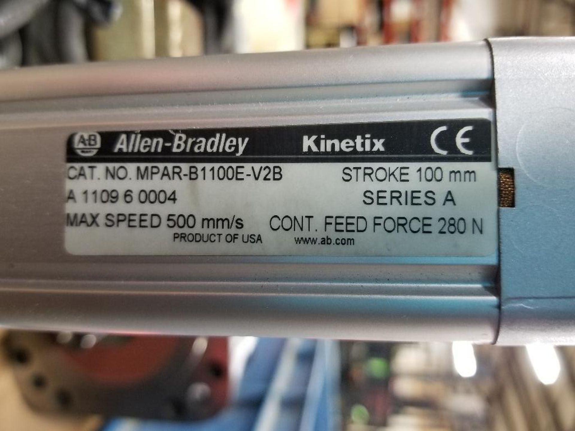 Allen Bradley Kinetix MPAR-B1100E-V2B. 100mm- Stroke, 500mm/speed. - Image 3 of 3