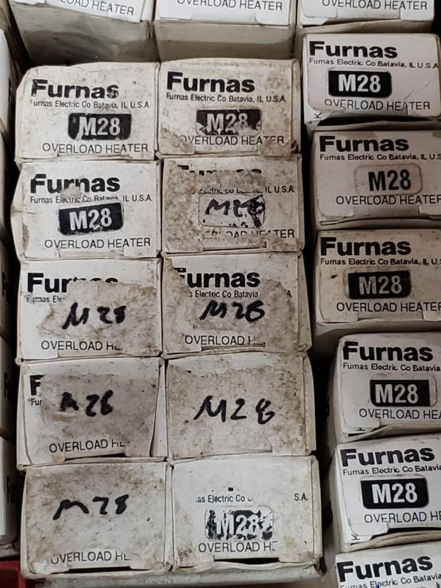 Assorted contactor heaters. Furnas. - Image 4 of 7