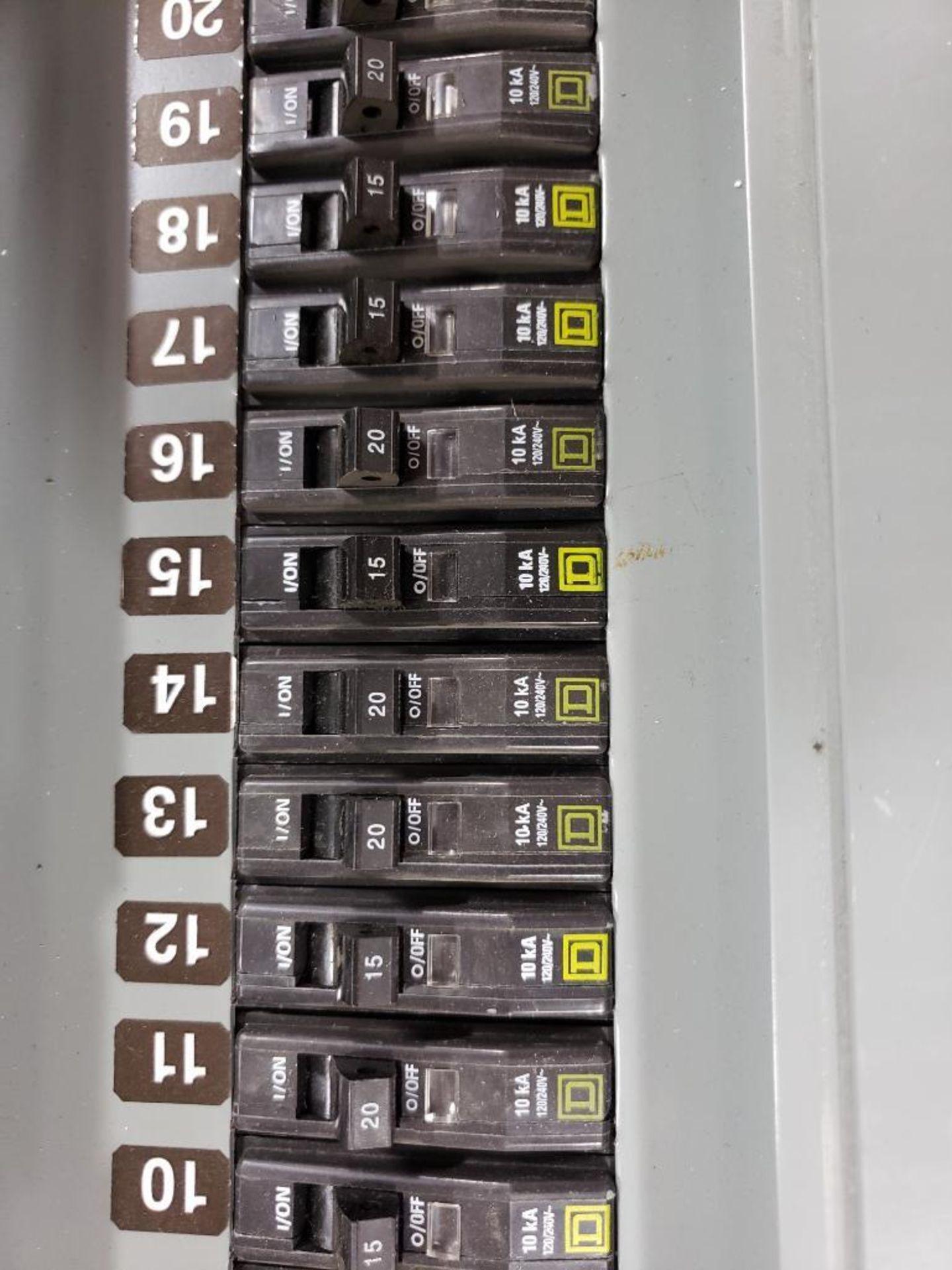 Square-D LX62TS Type-1 Enclosure. - Image 5 of 11