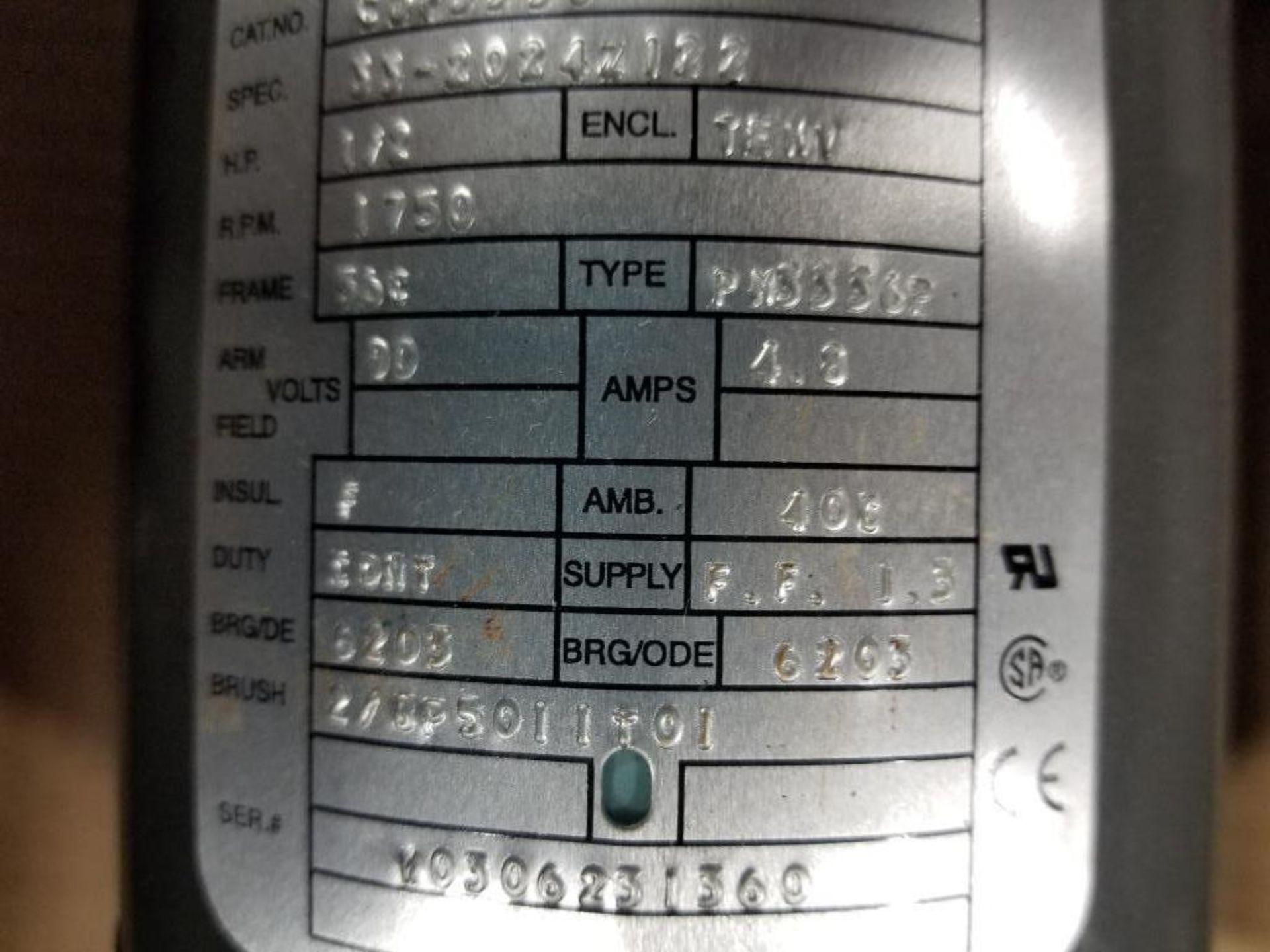 1/2HP Baldor industrial motor COP3330, 33-2024Z122. 1750RPM, 56C-Frame. - Image 3 of 6