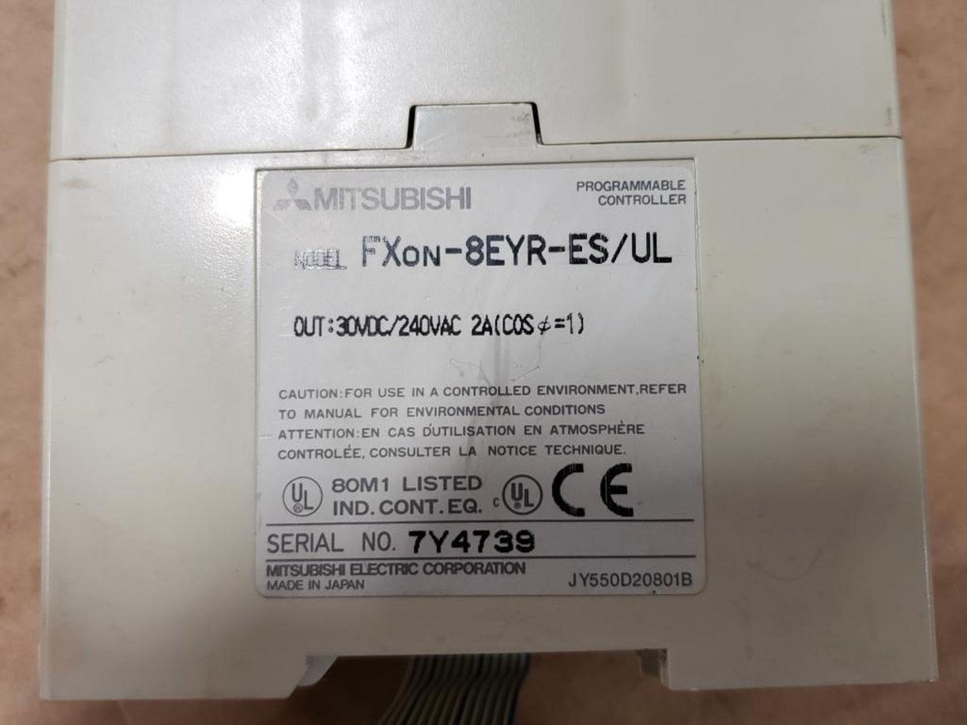 Assorted Mitsubishi electrical. MELSEC FXon-60MR0DS, FXon-8EYR-ES. - Image 9 of 10
