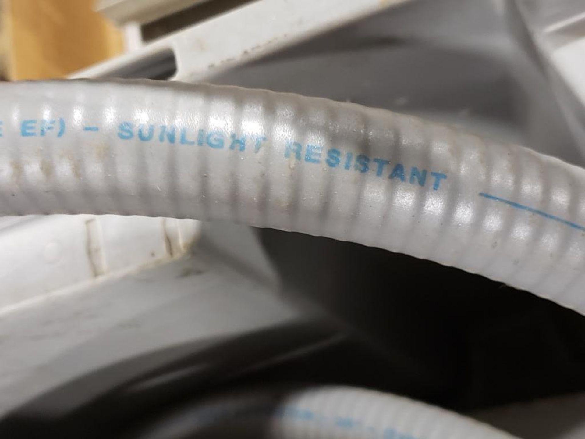 "Alflex Corp. 3/4"" Sunlight resistant conduit. - Image 5 of 5"