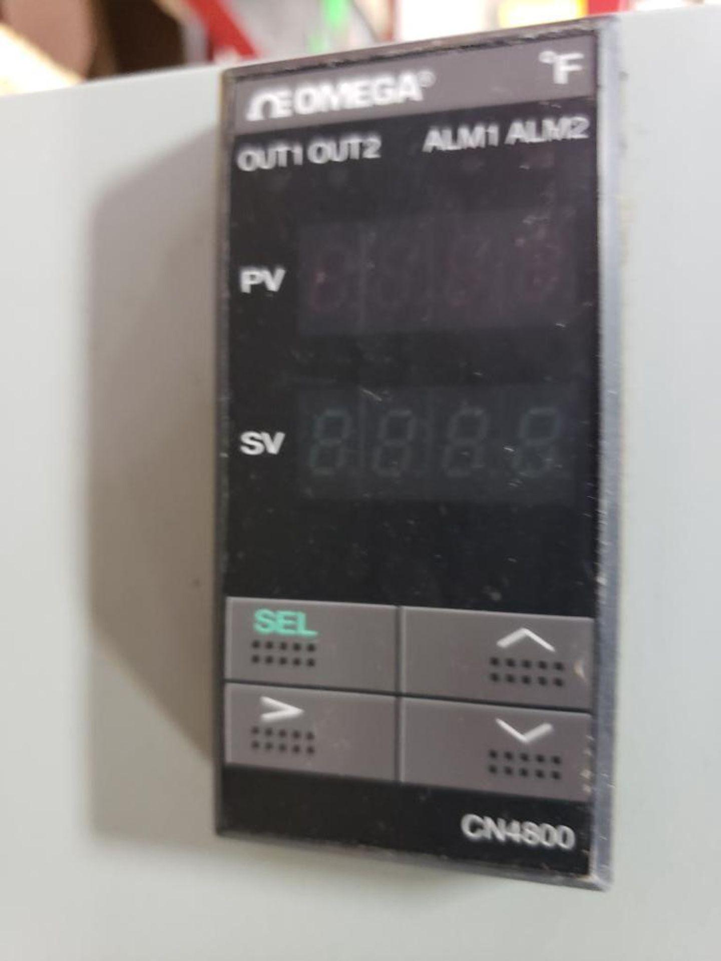Chiller control cabinet. Hoffman enclosure, Cutler Hammer AF93AG0B007D drive, Allen Bradley drive. - Image 3 of 35