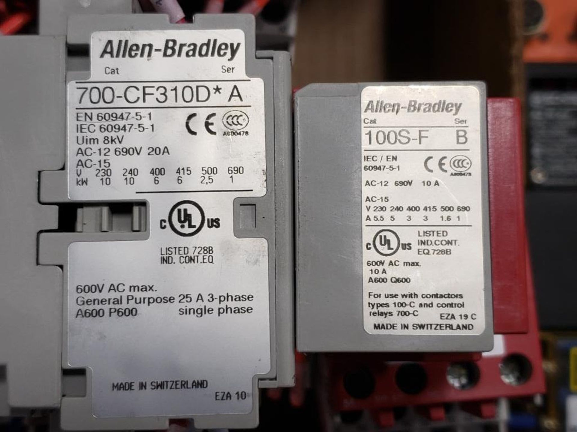 Qty 9 - Assorted Allen Bradley Guardmaster contactor. - Image 6 of 11