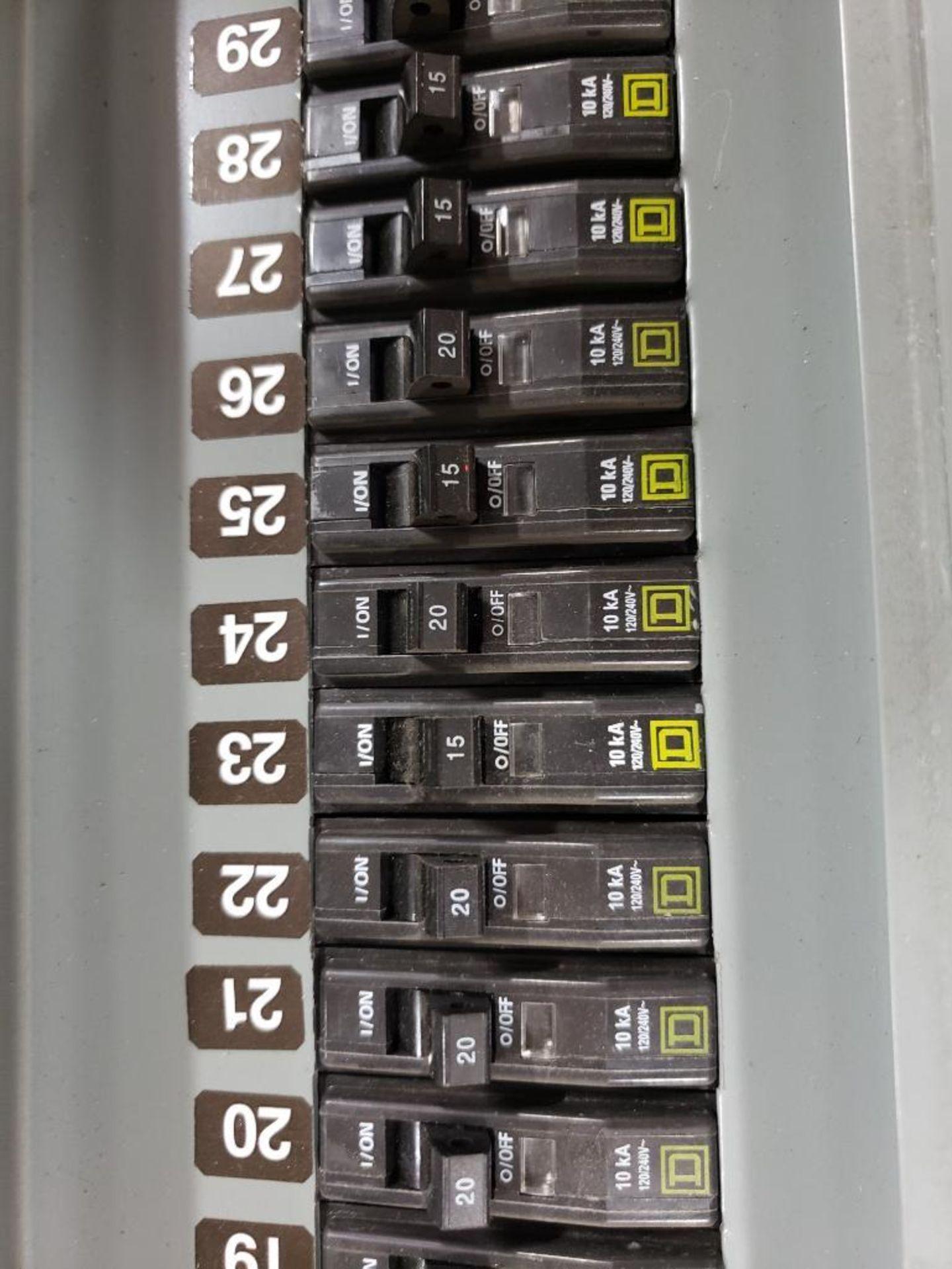 Square-D LX62TS Type-1 Enclosure. - Image 6 of 11