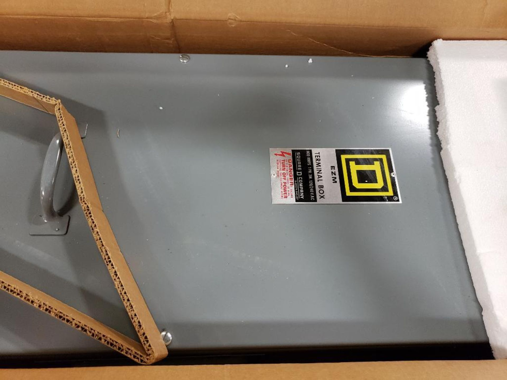 Square-D EZM Terminal Box EZM-3800TBR. New in Box. - Image 4 of 6