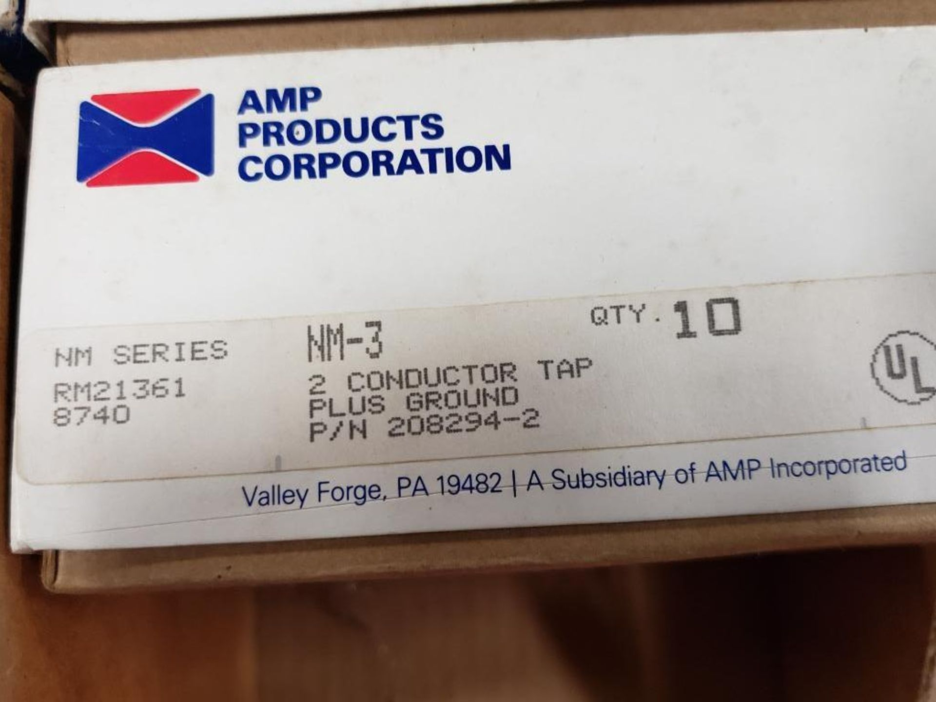 Assorted electrical breaker, conductor. AMP products, Eaton. - Image 3 of 8