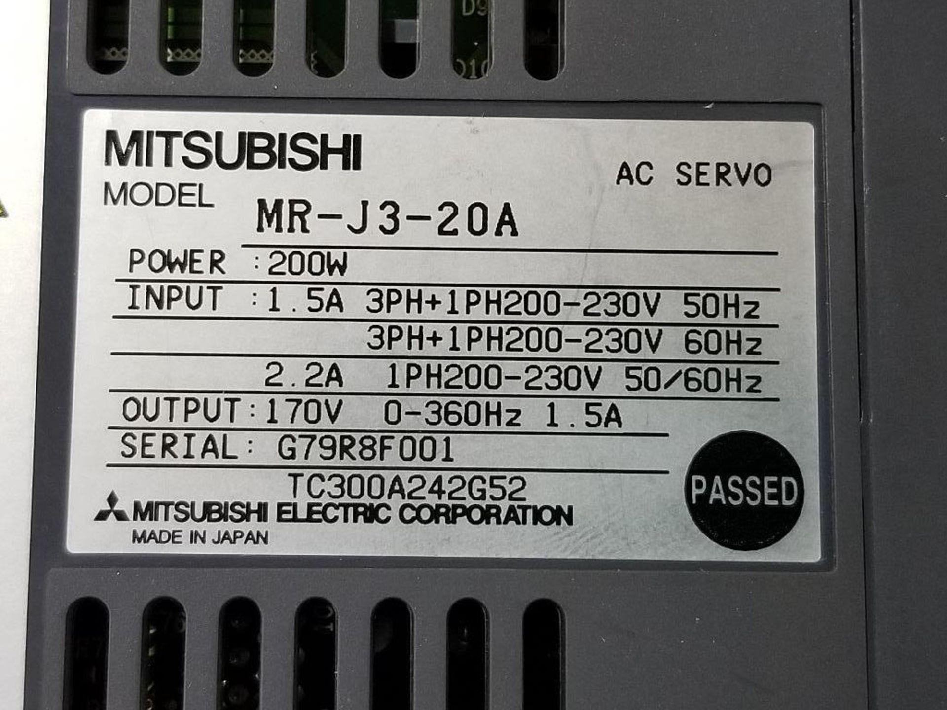 Mitsubishi MR-J3-20A AC Servo drive. - Image 5 of 5