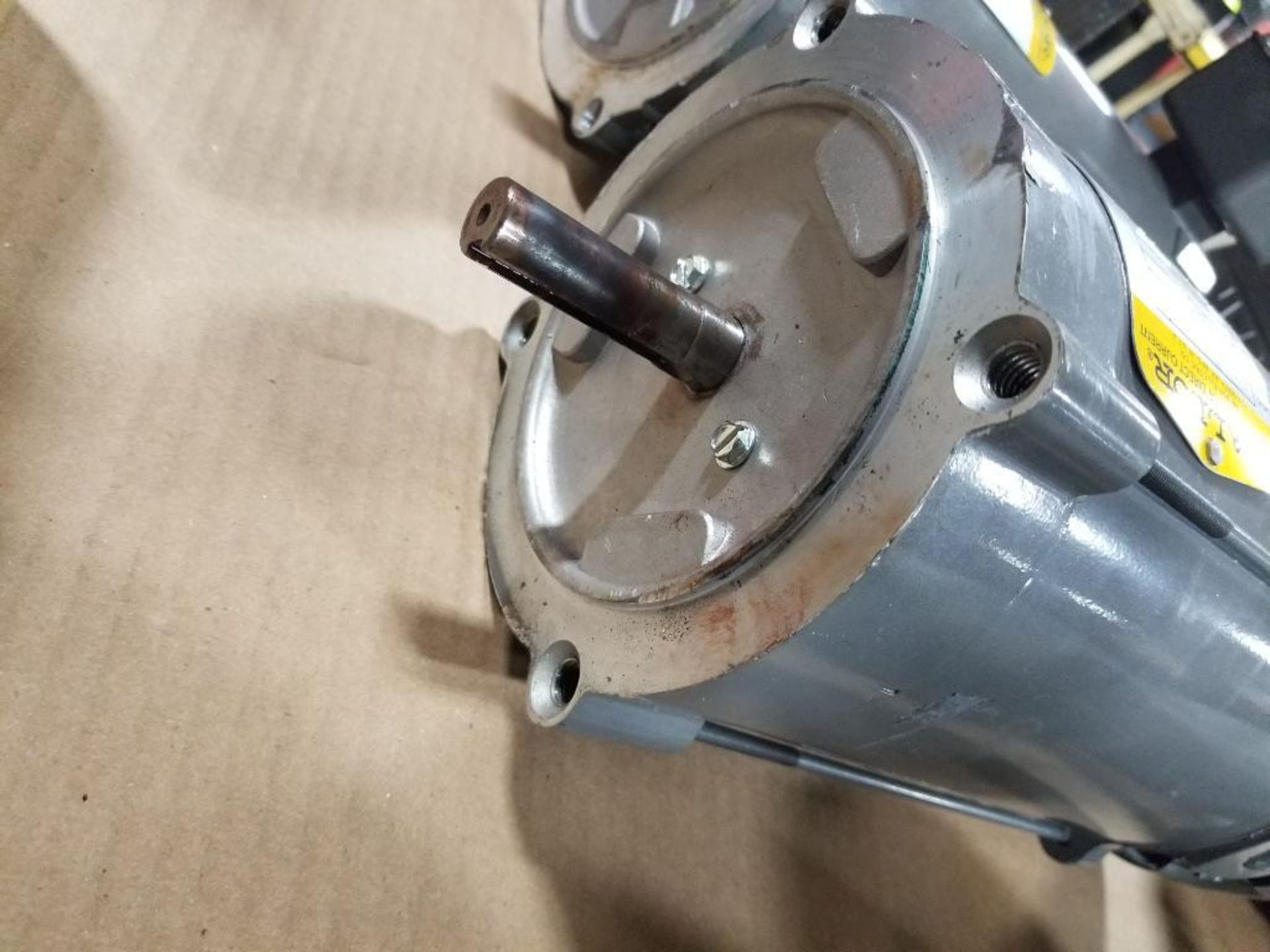 3/4HP Baldor industrial motor COP3440, 34-5990-3662. 1750RPM, 56C-Frame. - Image 5 of 5