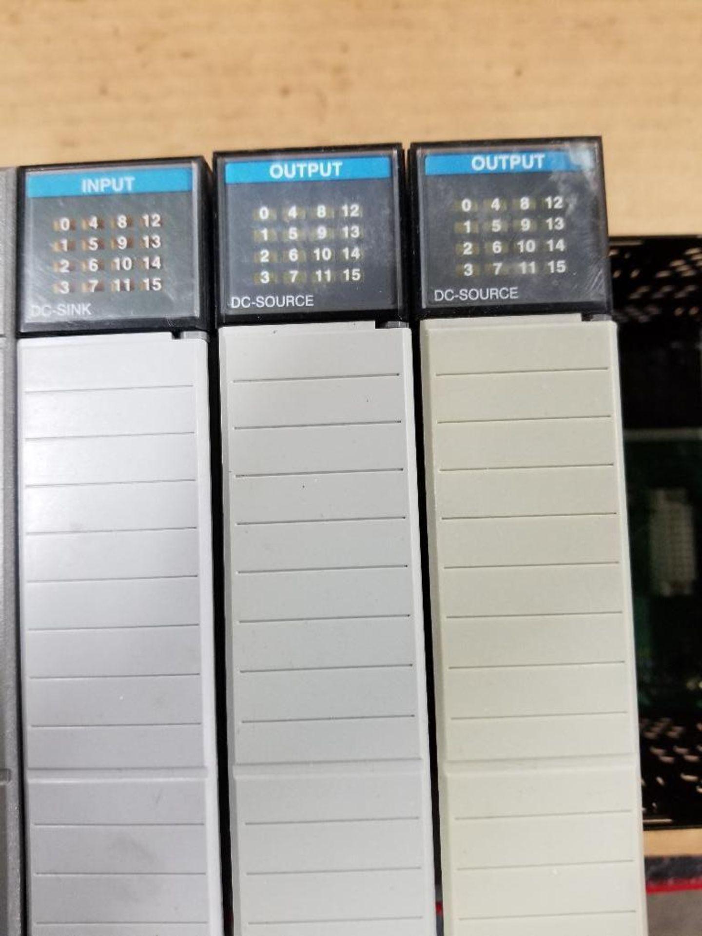 Allen Bradley SLC Rack. SLC 5/04 CPU. - Image 4 of 4