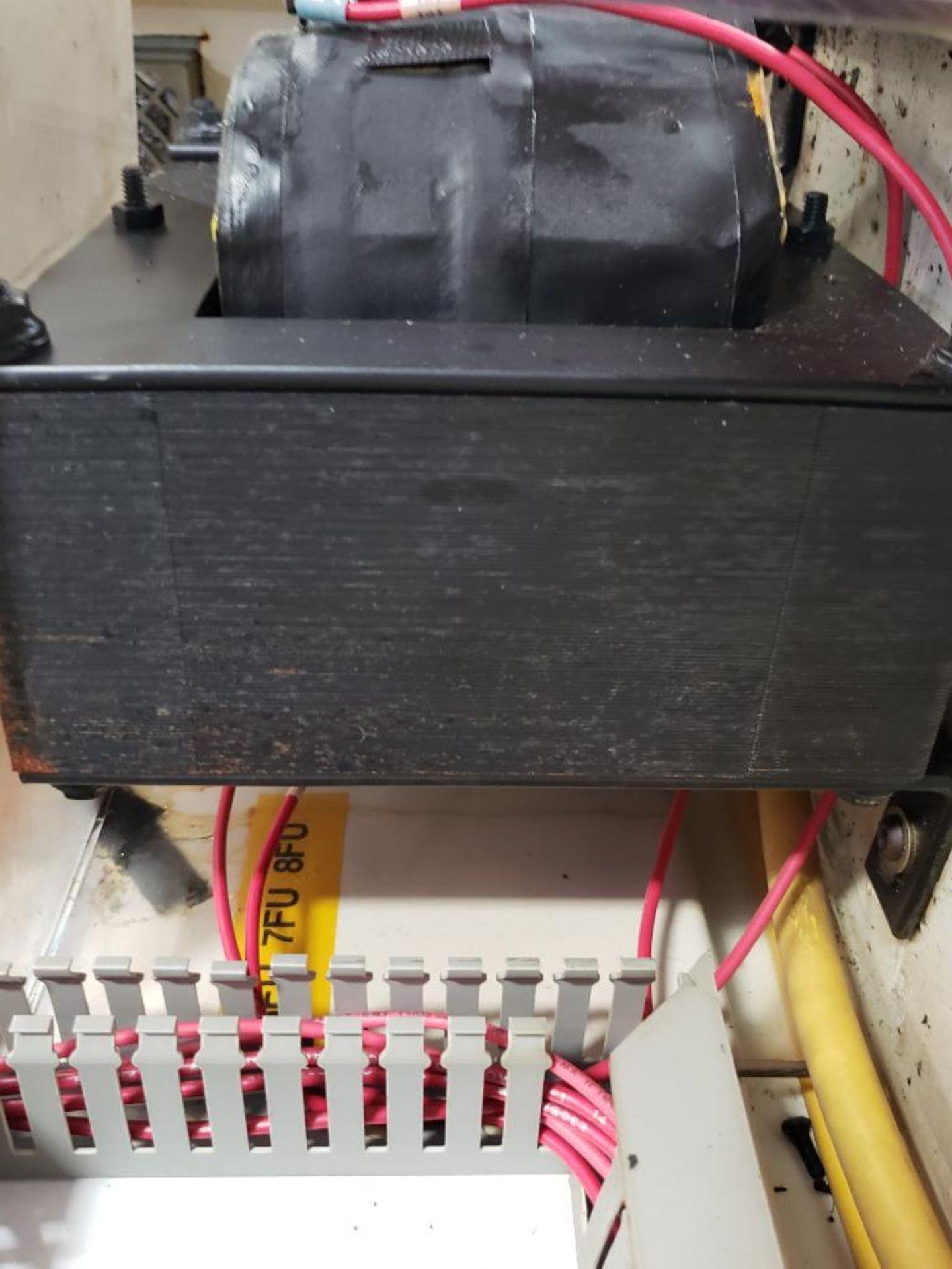 Chiller control cabinet. Hoffman enclosure, Cutler Hammer AF93AG0B007D drive, Allen Bradley drive. - Image 34 of 35
