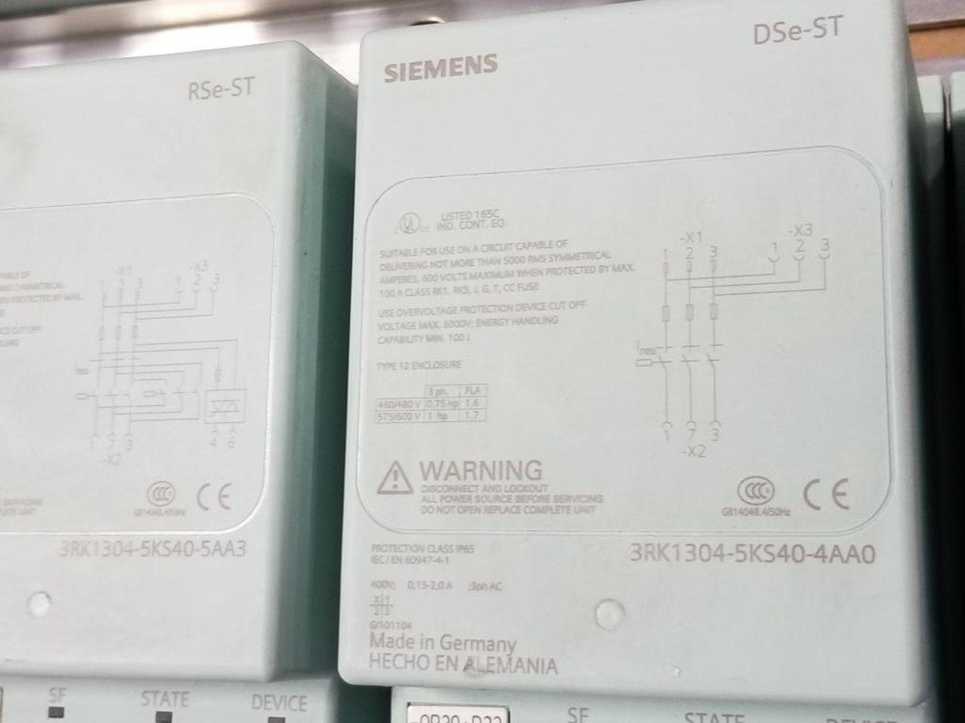 Siemens RSe-ST Reversing starter, DSe-ST Disconnect module flow control line. - Image 3 of 9