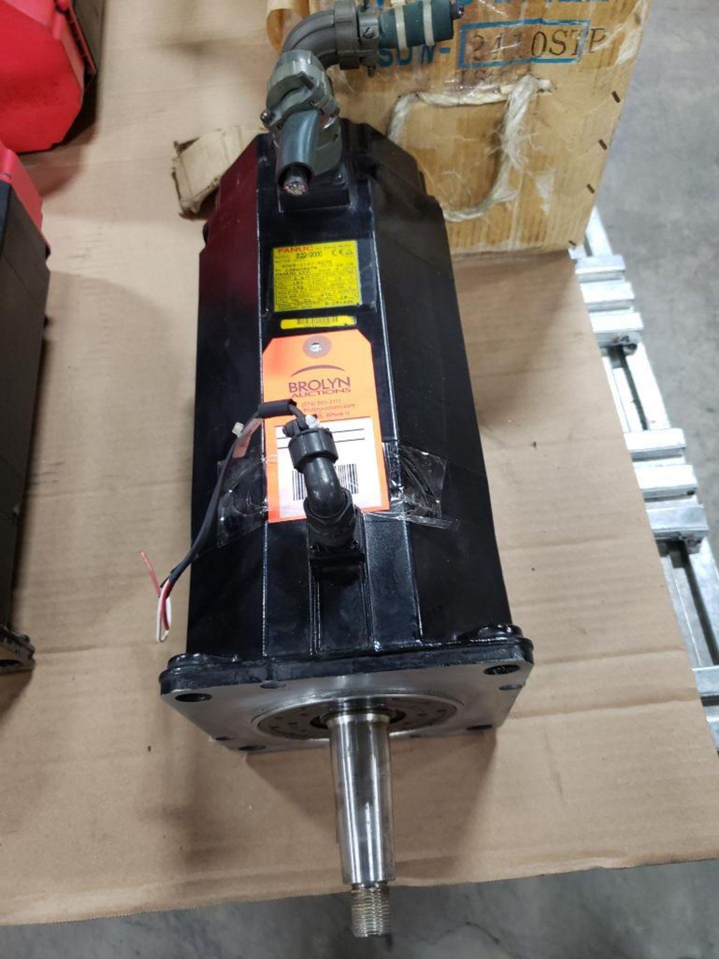 3.8kW GE Fanuc AC Servo Motor A06B-0147-B675. 157V, 2000RPM, 3PH.